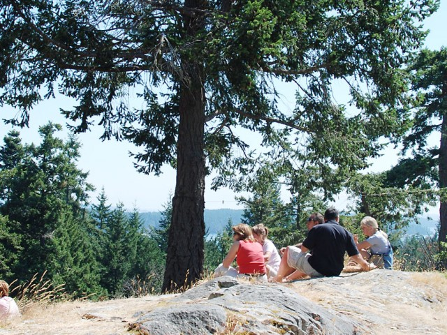 salt spring island viewpoint